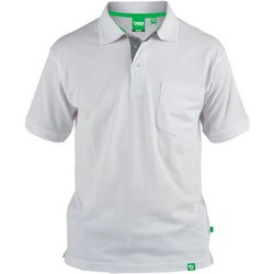 textil Herre Polo-t-shirts m. korte ærmer Duke  White