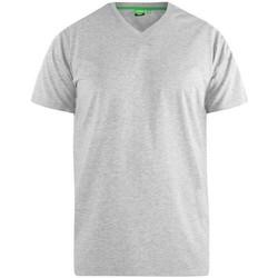 textil Herre T-shirts m. korte ærmer Duke  Grey
