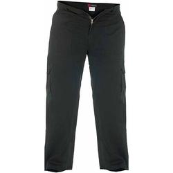 textil Herre Cargo bukser Duke  Black