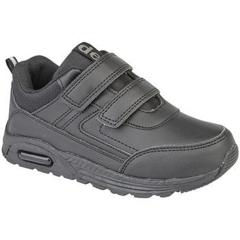 Sko Dreng Lave sneakers Dek Felix Black