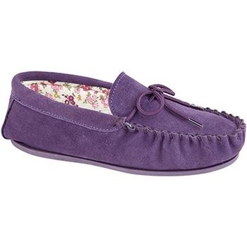 Sko Dame Tøfler Mokkers Lily Purple