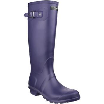 Sko Dame Gummistøvler Cotswold Sandringham Purple