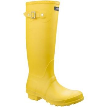 Sko Dame Gummistøvler Cotswold Sandringham Yellow