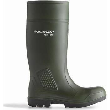 Sko Herre Sikkerhedssko Dunlop D460933 Purofort PRO Non-Safety Green