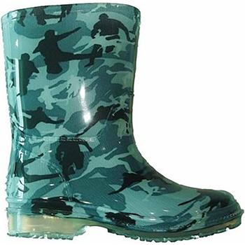 Sko Dreng Gummistøvler Cotswold PVC KIDS WELLINGTONS Camouflage