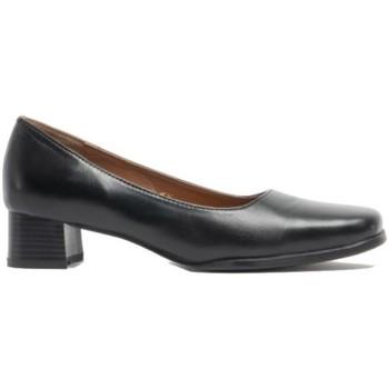 Sko Dame Højhælede sko Amblers WALFORD SHOE X WIDE (BLACK/NAVY) Black
