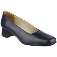 Sko Dame Højhælede sko Amblers WALFORD (BLACK/NAVY) Navy