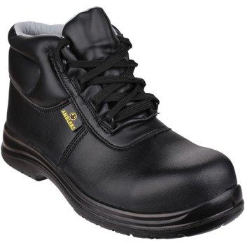Sko Herre Sikkerhedssko Amblers FS663 Safety ESD Boots Black