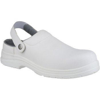 Sko Træsko Amblers FS512 White Safety Shoes White