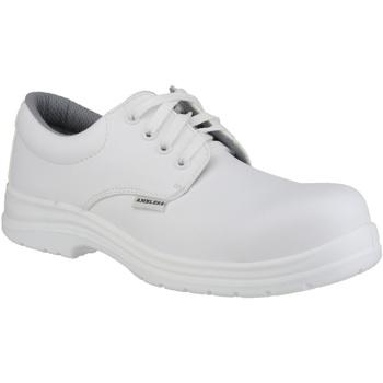 Sko Herre Snøresko Amblers FS511 White Safety Shoes White