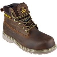 Sko Herre Sikkerhedssko Amblers FS164 Safety Boots Brown