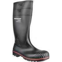 Sko Sikkerhedssko Dunlop Acifort Heavy Duty Safety Welly Black