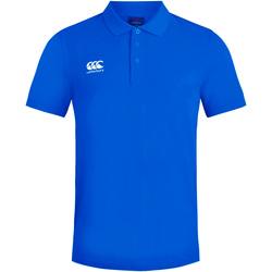 textil Herre Polo-t-shirts m. korte ærmer Canterbury CN220 Royal