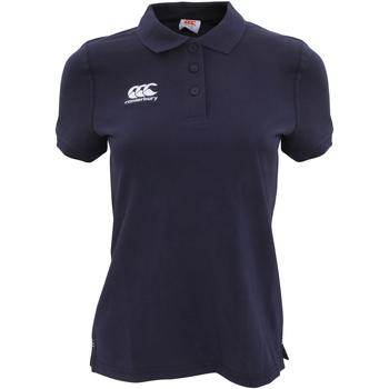 textil Dame Polo-t-shirts m. korte ærmer Canterbury CN220F Navy