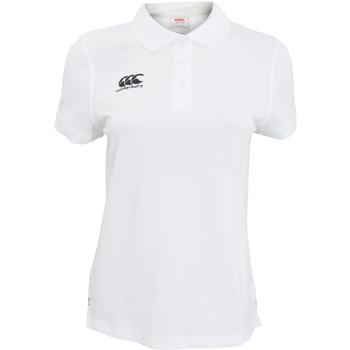 textil Dame Polo-t-shirts m. korte ærmer Canterbury CN220F White