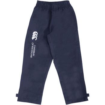 textil Børn Træningsbukser Canterbury CN250B Navy