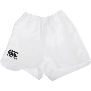 textil Børn Shorts Canterbury CN310B White