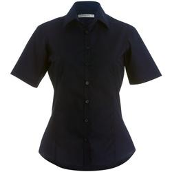 textil Dame Skjorter / Skjortebluser Kustom Kit K742F Black