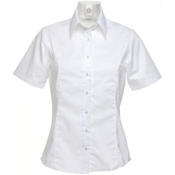 textil Dame Skjorter / Skjortebluser Kustom Kit K742F White