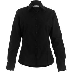 textil Dame Skjorter / Skjortebluser Kustom Kit Business Black