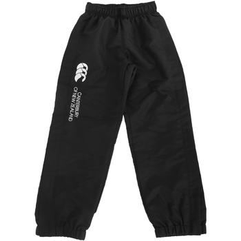 textil Børn Træningsbukser Canterbury CN251B Black