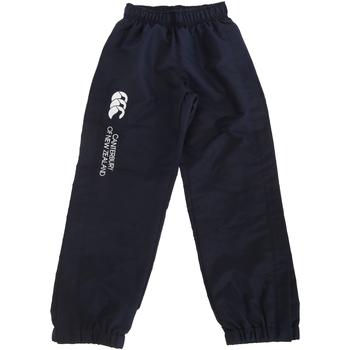 textil Børn Træningsbukser Canterbury CN251B Navy