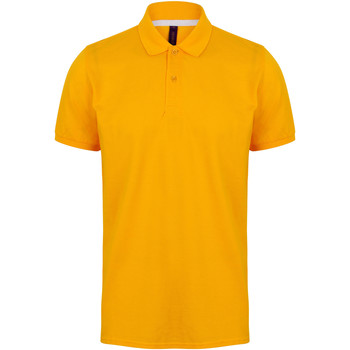 textil Herre Polo-t-shirts m. korte ærmer Henbury HB101 Gold