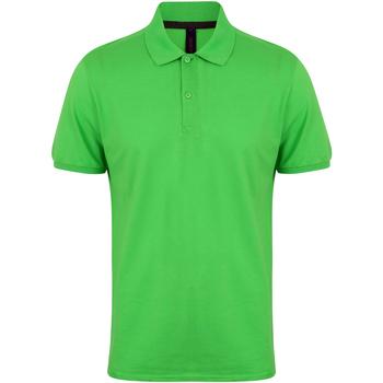 textil Herre Polo-t-shirts m. korte ærmer Henbury HB101 Lime