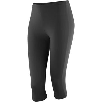 textil Dame Leggings Spiro SR284F Black