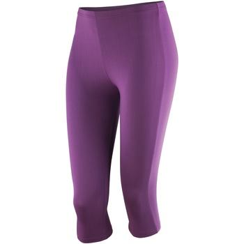 textil Dame Leggings Spiro SR284F Grape