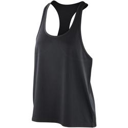 textil Dame Toppe / T-shirts uden ærmer Spiro SR285F Black