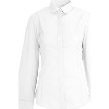 textil Dame Skjorter / Skjortebluser Brook Taverner Trevi White