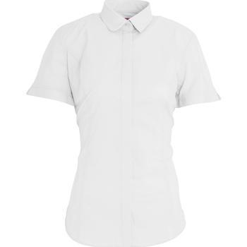 textil Dame Skjorter / Skjortebluser Brook Taverner BK133 White
