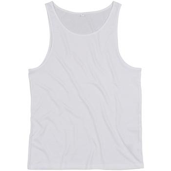 textil Toppe / T-shirts uden ærmer Mantis M133 White