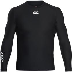 textil Herre Langærmede T-shirts Canterbury CN360 Black