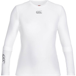 textil Herre Langærmede T-shirts Canterbury CN360 White