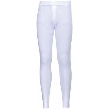 textil Herre Træningsbukser Portwest PW142 White