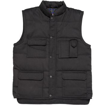 textil Herre Veste / Cardigans Portwest Shetland Black