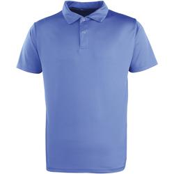 textil Polo-t-shirts m. korte ærmer Premier PR612 Royal