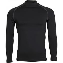textil Herre Langærmede T-shirts Rhino RH001 Black