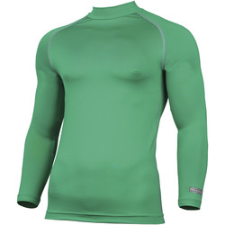 textil Herre Langærmede T-shirts Rhino RH001 Green