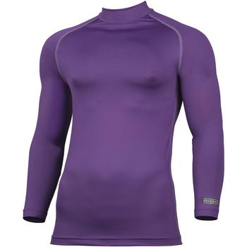 textil Herre Langærmede T-shirts Rhino RH001 Purple