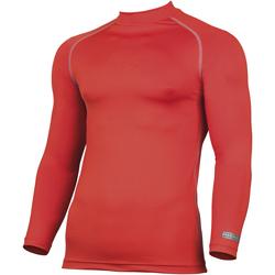 textil Herre Langærmede T-shirts Rhino RH001 Red
