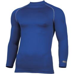 textil Herre Langærmede T-shirts Rhino RH001 Royal