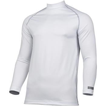 textil Herre Langærmede T-shirts Rhino RH001 White