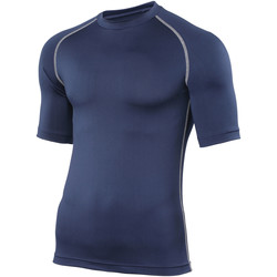 textil Herre T-shirts m. korte ærmer Rhino RH002 Navy