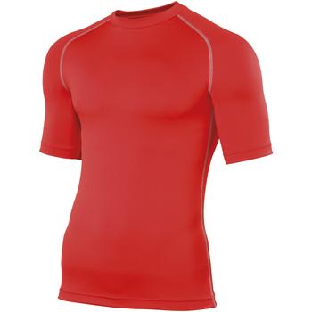 textil Herre T-shirts m. korte ærmer Rhino RH002 Red