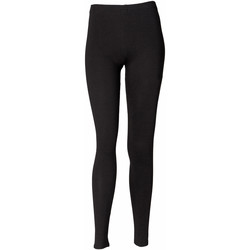 textil Dame Leggings Skinni Fit SK064 Black
