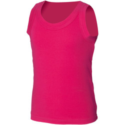textil Børn Toppe / T-shirts uden ærmer Skinni Fit SM016 Fuchsia