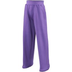 textil Børn Træningsbukser Awdis JH71J Purple